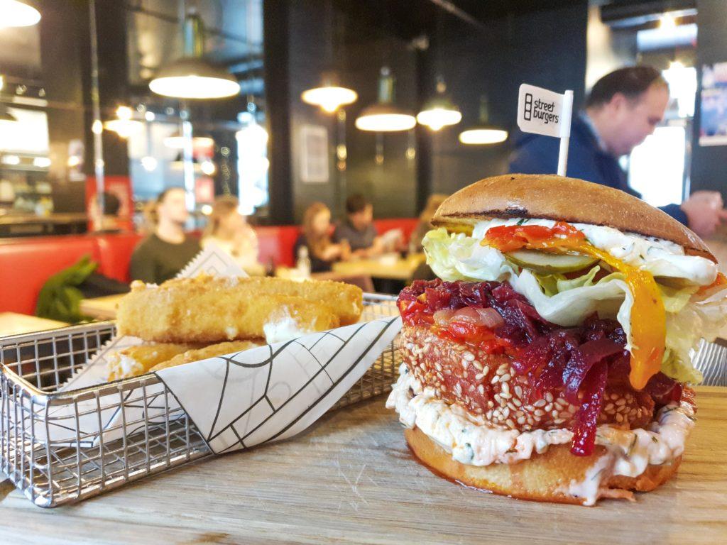 Falafel Veģetārais Burgeris
