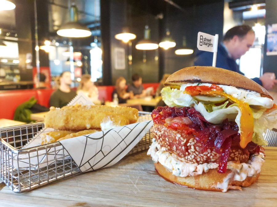 Street Burgers vegetarian burgers
